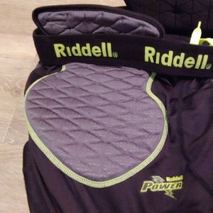 Riddell Mens Compression Padded Football Pants